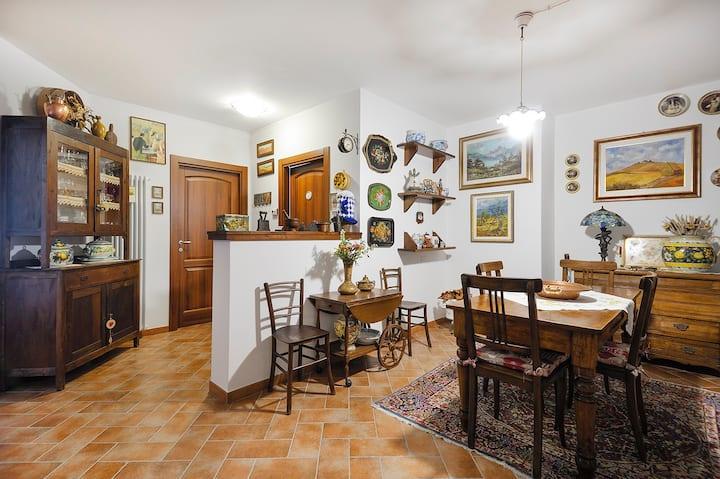 Casa di Silvia...a due passi dalla Val d'Orcia