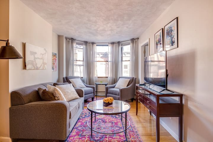 North End, 1 Bed Apt w/ office, Boston
