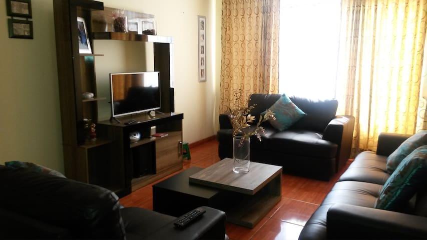 DEPARTAMENTO AMOBLADO EN EL CENTRO DE LA CIUDAD - Arequipa