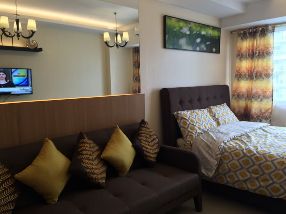 Spacious room 28sqr mtr with balcony
