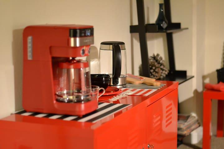 coffee machine, electric kettle, etc.