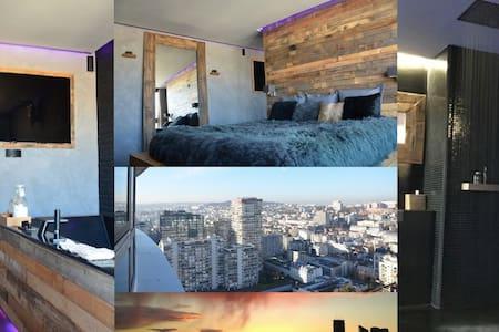 PANORAMIC VIEW SPACIOUS & COSY STUDIO - LA DEFENSE - 皮托 - 公寓