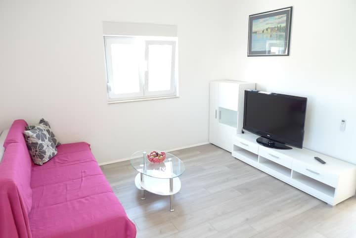 One bedroom Apartment, in Olib - island Olib, Balcony