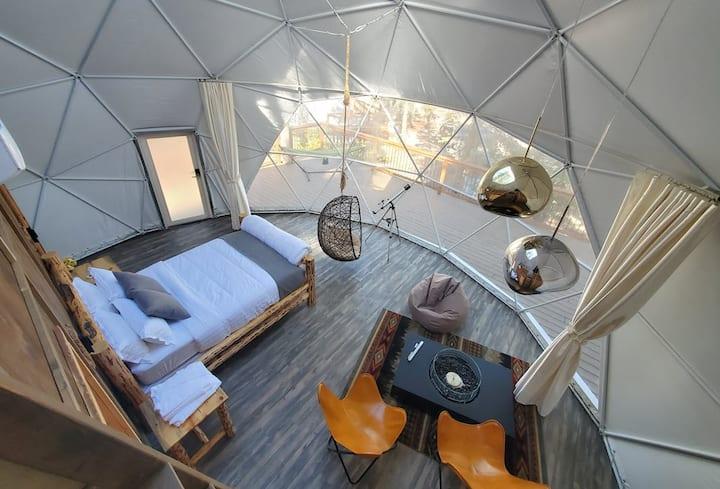 4P Glacier National Park LUXURY Sky Dome