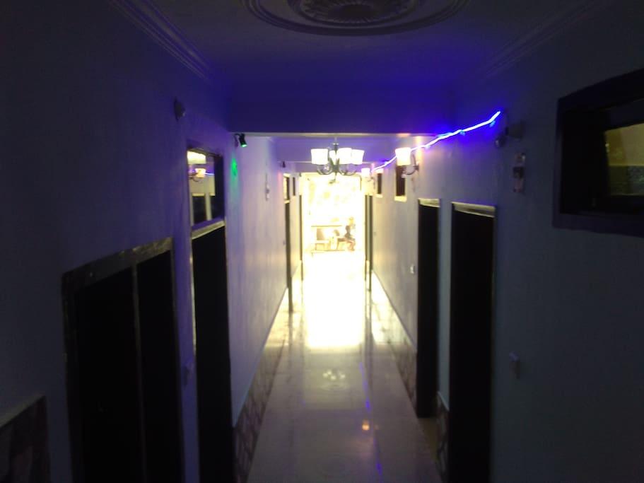 Entrance look