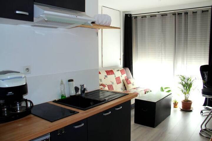 Appartement-studio 2 chambres - เลอ มองส์ - อพาร์ทเมนท์