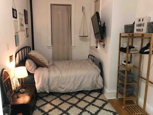 Private Bedroom Across from Prospect Park