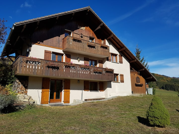 Appartement 53m2 en vallée verte