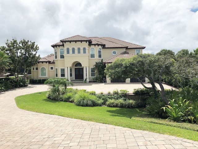 Executive home across from the beach