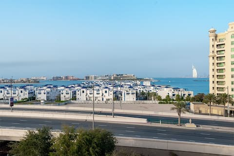 Sea View | Large 3 Bedroom | Palm Jumeirah
