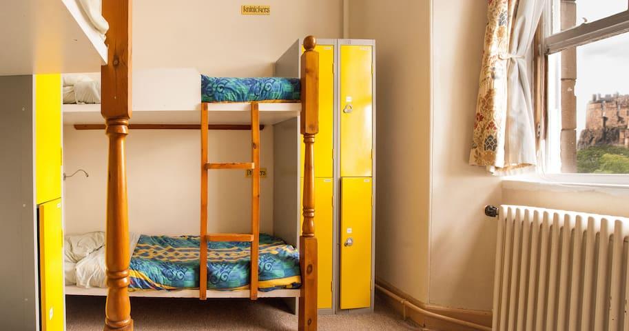 6 Bed Mixed Dorm Edinburgh Centre