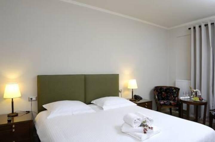 Deluxe Δίκλινο Δωμάτιο με Μπαλκόνι και Θέα