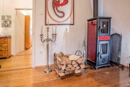 Schicke Altbauwohnung in Schwarzwald Villa - Bad Herrenalb - Apartamento