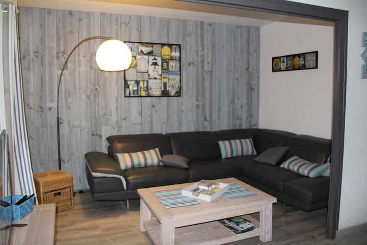 apt 3 ch tt confort centre ville LR (classé ***) - La Rochelle - Appartement