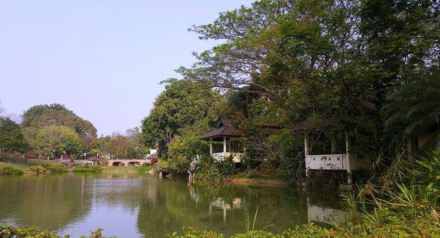 Villa with Lake View at Chiang Mai! - Tambon Rim Nuea - Villa