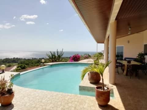 Casa Puerta al Mar with amaizing view, Morrillo