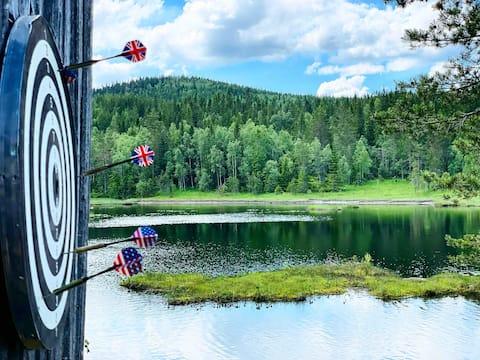 The Cabin By The Lake in Dalarna, Sweden