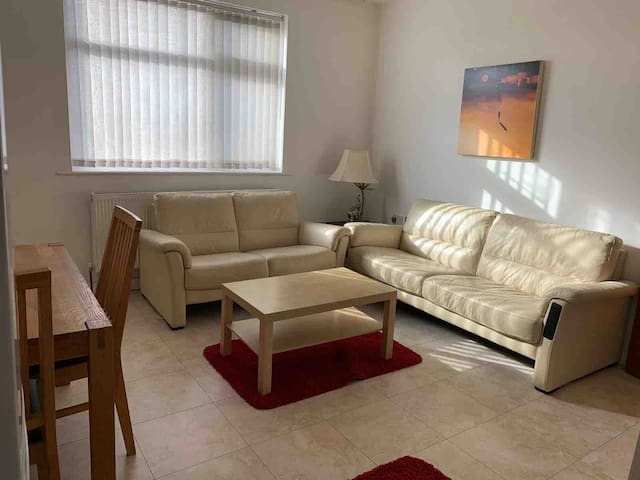Private 1 bedroom flat WiFi 1-3 guests (#2)