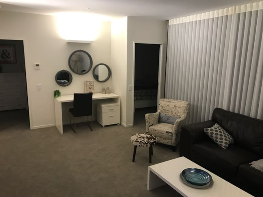 Lounge to bedrooms