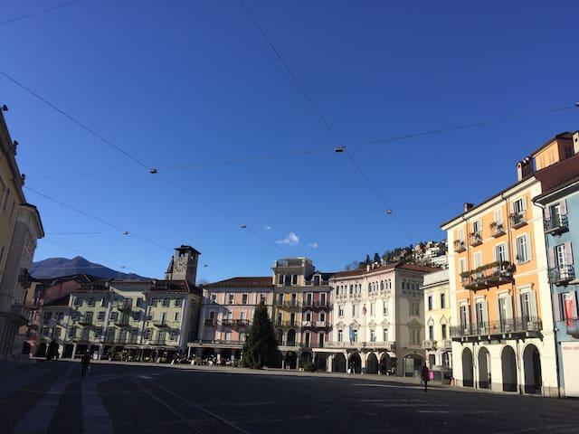 Piazza Grande, Locarno - Locarno - Apartment