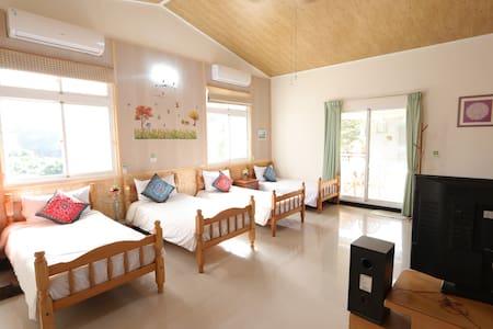 樂活朋友四床房-舒適樂活的空間