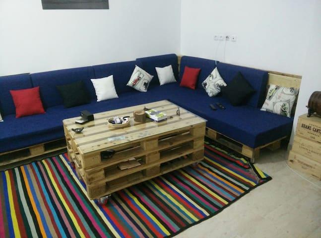 Beau Studio,15minutes tous endroits - La Goulette - Apartamento