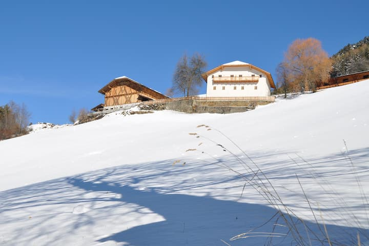 Sun-drenched Mountain Farm in South Tyrol