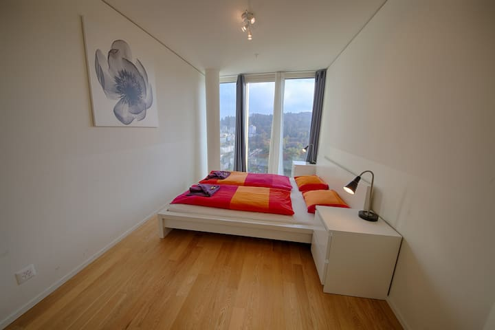 Exclusive 3.5 room with terrace S.W - Lucerne - Apartamento