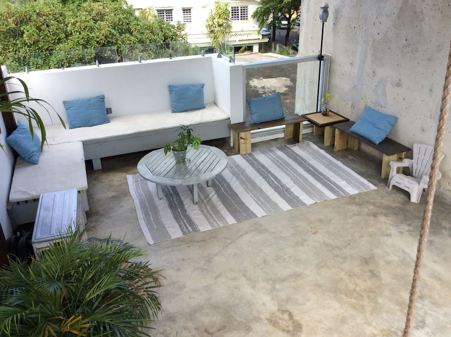 Seating area...