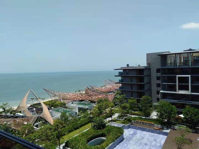 果度嘆精致亲海05,金町湾触手可及,2张国宝1.5米宽大床,舒适体验全海景