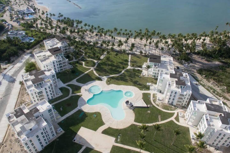Vista aerea del complejo