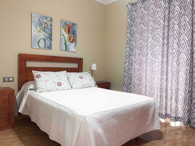 Apartamento casco histórico, 3 habitaciones + wifi