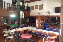 Restaurant with Snooker/Ping Pong table