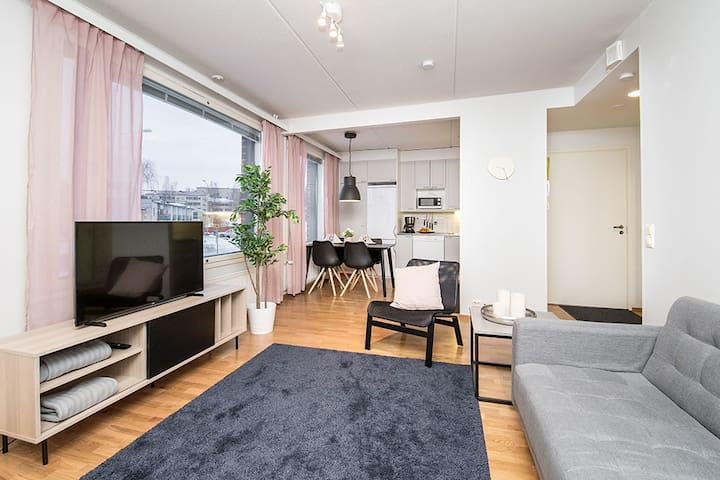 The most central apartment in Vaasa