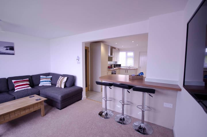 Fistral beach, Newquay, apartment