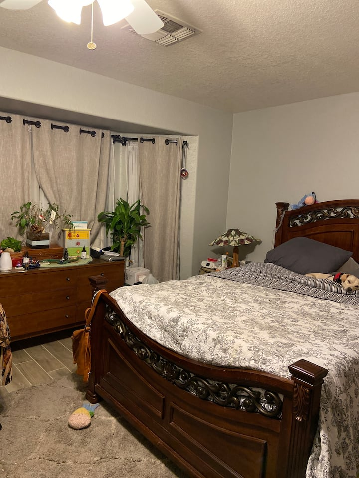 Palace - master bedroom (3 month minimum)