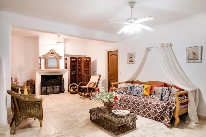 Casa vacanze vintage in Likorema con terrazza