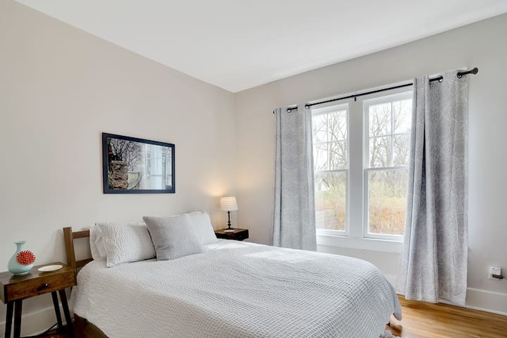 Second bedroom with plenty of natural light.