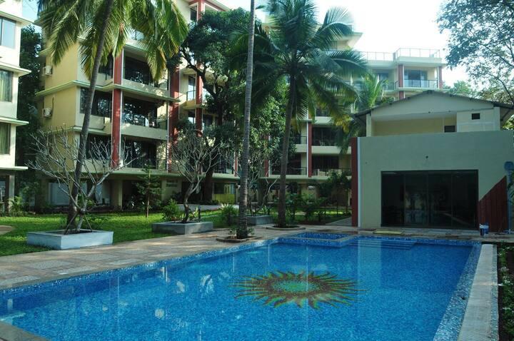 Club X Pool view 2bedroom apartment
