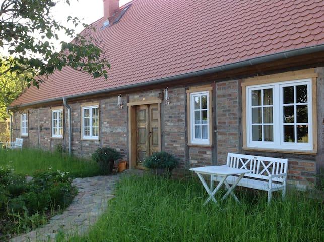 80qm FeWo im Fachwerkhaus, 5 km bis Grimmen - Splietsdorf - Lägenhet