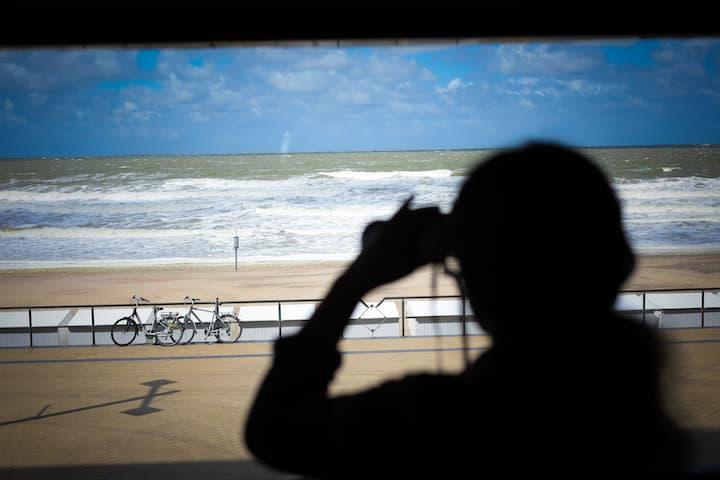 zicht op zee  2 - 6 personen
