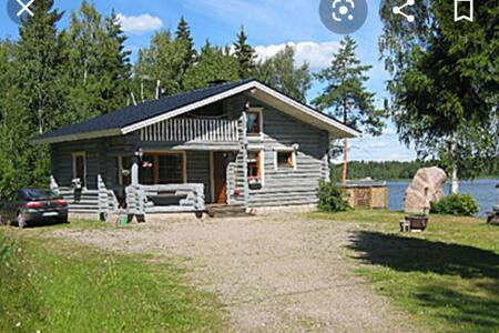 Nordic Lakeside Cabin Summer Cottage