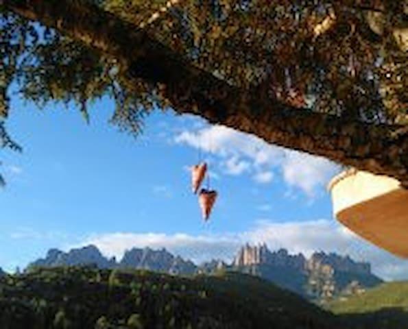 Suite con espectaculares vistas a Montserrat - Marganell - Casa