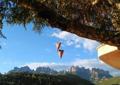 Suite con espectaculares vistas a Montserrat - Marganell