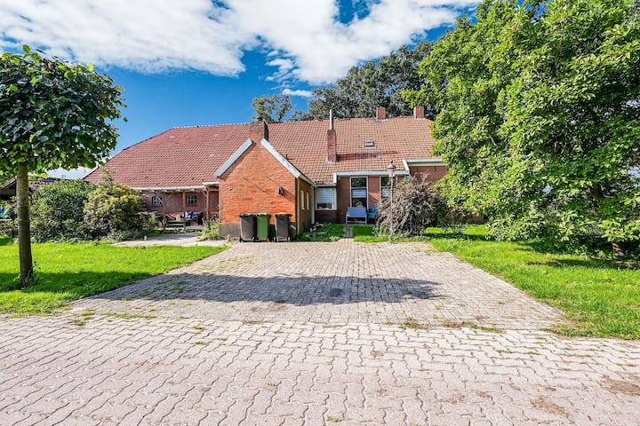 Spacious Farmhouse in Tweede Exloërmond with Patio