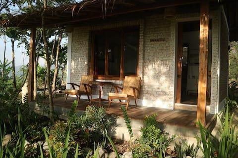 Sawah Breeze House with Panorama Rice Field View