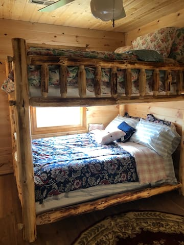 DOWNSTAIRS DOUBLE BUNK IN FULL SIZE VIEWS