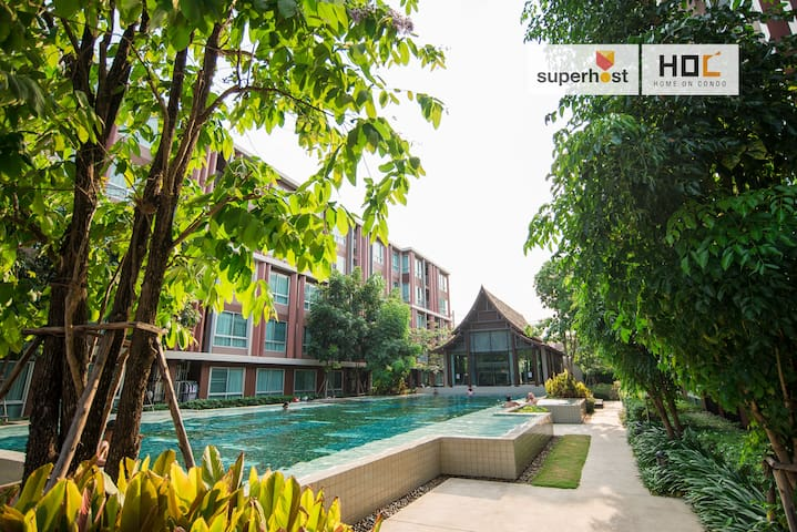 HOC H2 Soft Clean and Relax Apartment Chiang Mai