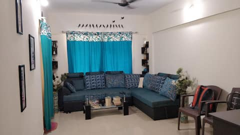 1 bedroom available to share in a 2BHK apartment.