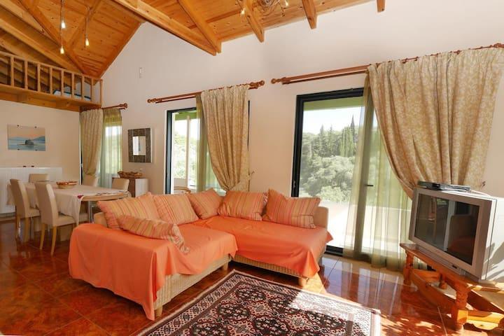 Cozy 8 Guests Apartment Paleokastritsa Byronas Ap.